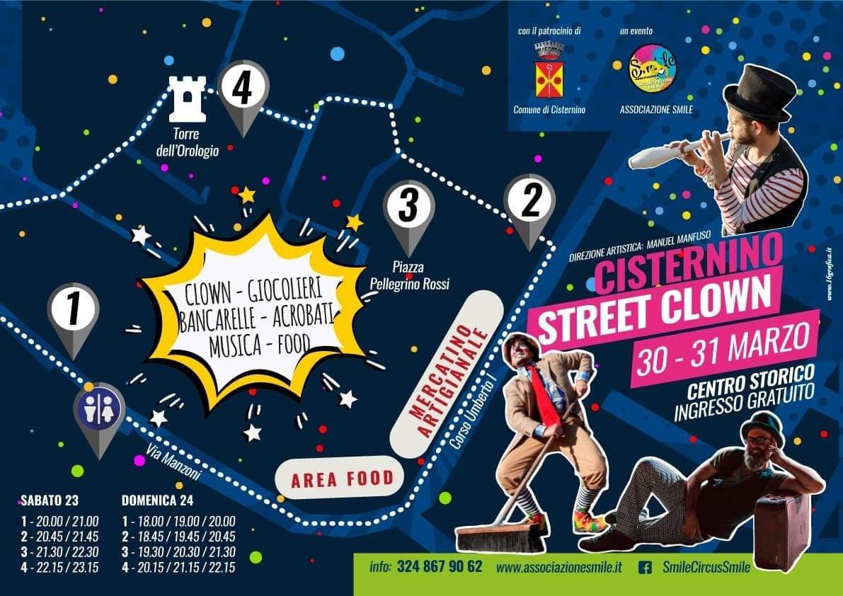 CISTERNINO STREET CLOWN  30 e 31 marzo a #Cisternino – (Br